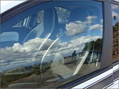 Autofenster-Reflektionen * Car window reflections * Reflexiones ventana del coche *  . P1320670-001 (maya.walti HK) Tags: 2016 211116 aussichtspunktescolomer balearen copyrightbymayawaltihk espaa flickr mallorca miradorescolomer panasoniclumixfz200 reflections reflektionen reflexiones spain spanien spiegelungen viewpointescolomer
