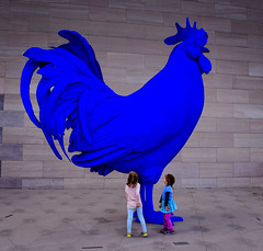Katharina Fritsch - Electric Blue Rooster (Hahn/Cock), 2013 at the National Gallery of Art - East Wing - Washington DC (mbell1975) Tags: washington districtofcolumbia unitedstates us katharina fritsch electric blue rooster hahncock 2013 national gallery art east wing dc museum museo musée musee muzeum museu musum müze finearts fine arts gallerie beauxarts beaux galleria washingtondc usa america nga chicken hahn statue sculpture