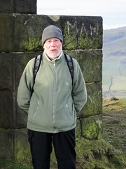 Last known photo of Bill, so far (backseatsnoozer) Tags: ramblers stoodley pike moor manchester yorkshire todmorden shadows