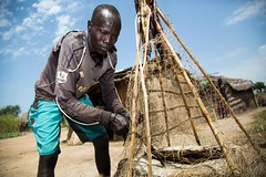 Drying fish (FAOemergencies) Tags: fao food agriculture crops cultivation cultivators farmers farming fish foodsecurity sorghum aweil northernbahralgazal southsudan emergencies africa fisheries sourthsudan conflict crisis fisherers