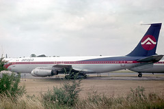 N716HH Boeing 707-321 Aeropa (pslg05896) Tags: n716hh boeing707 aeropa stn egss stansted