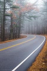 Chickatawbut Road (alohadave) Tags: bluehills fog massachusetts northamerica pentaxk5 places sky unitedstates smcpda1650mmf28edalifsdm