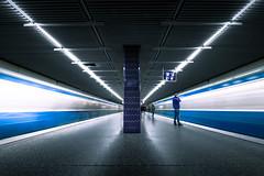 Rush Hour (matthiasstiefel) Tags: ubahn underground subway metro munich bavaria