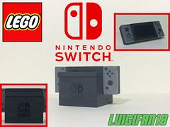 Custom Lego Nintendo Switch (Luigi Fan) Tags: custom lego nintendo switch console nx moc