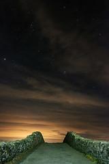 Ancient Bridge to the Stars (dilys_thompson) Tags: bridge old ancient anglesey stonebridge stars stargazing starshots sky nightphotography night nightsky dark clouds fuji fujixt2 fujifilm xt2 wideangle