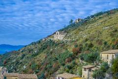 Arpino (FR), 2016, Vista su Arpino dalla Civitavecchia. (Fiore S. Barbato) Tags: italy lazio arpino civitavecchia acropoli mura poligonali ciclopiche ciociaria ciociaro ciociari