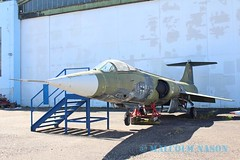 F104G 24+54 GERMAN AIR FORCE (shanairpic) Tags: preserved museum merseburg jetfighter f104g starfighter germanairforce luftwaffe