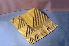 The Bast 18 Origami Models from Ancient Egypt (Origami.me) Tags: egypt pyramid origami paper papercraft craft diy fold folding