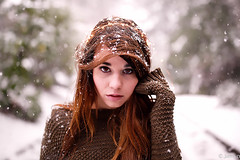 The snow symptom (Samir D) Tags: model fashion samird 2016 snow eos 35mm14 35mm look markiii canon canada vancouver vancity vancitybuzz vans queenelizabethpark qepark intense winter people westcoast bc britishcolumbia 604