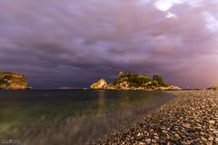 E la luna buss (Marco Patti) Tags: landscape seascape nightscape night sunrise isolabella alba clouds sicilia sicily italy mare sea nuvole lungheesposizioni