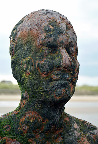 Portrait Of An Iron Man, Crosby Beach