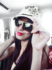 I love wearing #shades and #cap   ❤ (affable02belle) Tags: sexy me smile pretty shades cap pinay capturedmoments fxcamera streamzoo
