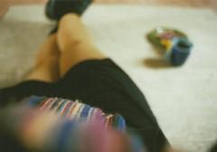 It's all been a blur... (_anke_) Tags: blur film analog scarf 35mm blurry legs bokeh perspective analogue colourful canonae1program bunt agfavista200 filmisnotdead 2013 filmsnotdead filmlebt ankeschroeder ankeschrder