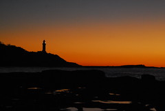 Central Coast Road Trip (kelliejane) Tags: blue orange lighthouse beach sunrise centralcoast toukley soldiersbeach kelliejane