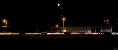 Aprs le feu, les feux ! (Los Ft Photographies) Tags: lune bourges nikon long exposure noir route exposition ciel temps nuit lumires voitures ombres feux longue tranes d3100