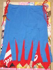 twirl_tshirt_skirt_front_by_jamoomers-d1z8afj (JamieAstari) Tags: original ties pin handmade buttons oneofakind ooak sewing crochet tie tshirt skirt pins purse recycle reuse pinned revamp