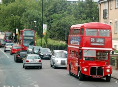 20 July Hackney (1) (togetherthroughlife) Tags: 2013 july hackney bus rm2217 76 arriva routemaster cuv217c