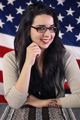 Rebecca Yvonne (Imanol Miranda) Tags: fashion patriotic classy clothingshop