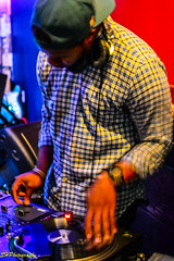 DJ RQ Away at Gasa Gasa on July 20, 2013