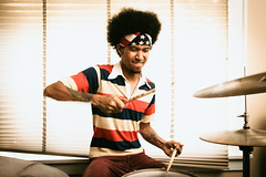 Derrick (aaronbrethorst) Tags: seattle music band drummer derrick recording breaksandswells