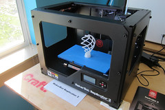 Make Magazine 3D Printer Shootout Weeken by jabella, on Flickr