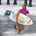 Bethany Hamilton - one armed pro surfer