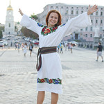"""Ukrainian girl wearing traditional clothes<a href=""""http://www.flickr.com/photos/28211982@N07/9485243108/"""" target=""""_blank"""">View on Flickr</a>"""