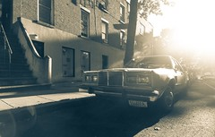 Chrysler New Yorker (Guillermo Murcia) Tags: new york city nyc newyorkcity sunset usa sunlight newyork brooklyn america fort gotham greene fortgreene capitaloftheworld newyorkcityboroughs oitdoors guillermomurcia