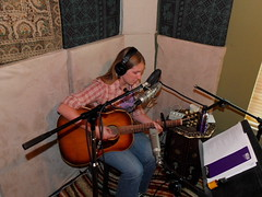 Zoe Muth - Recording Session (Kingsnake) Tags: school austin studio zoe george texas baker photos cd tx ron recording finishing reiff the muth