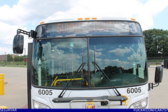 Akron Metro RTA New Flyer XN60 CNG #6005 (Seluryar) Tags: new bus flyer metro artic articulated akron cng bendy rta 6005 xn60