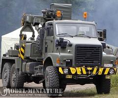 Truck (Volvo) from Bastogne Barracks (Model-Miniature / Military-Photo-Report) Tags: cat truck town tank wwii ambulance camel camion dodge combat barracks mons gmc bulldozer sherman cromwell diamondt js3 bastogne d7 m24 2013 dpannage is3 hvss vvss