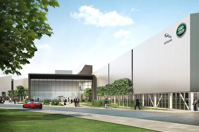 factory rover land jaguar 2020