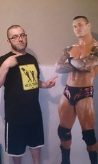 """Genzô Mouzon and friend, looking awesome with the """"Heel Turn"""" shirt"""