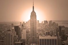 Empire state building (questforfire2010) Tags: newyork manhattan landmark midtown empirestatebuilding