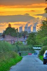 Grappenhall / Warrington Sunset 7-Oct-13 (UK_Greg) Tags: sunset sky fire warrington nikon cheshire hdr grappenhall d7000 ukgreg