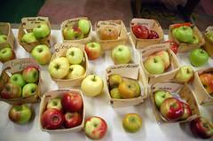 """Heirloom Apple Varieties for Sampling <a style=""""margin-left:10px; font-size:0.8em;"""" href=""""http://www.flickr.com/photos/91915217@N00/10303064743/"""" target=""""_blank"""">@flickr</a>"""