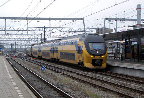 holland - ns dd emu arriving utrecht cs 14-10-13 JL