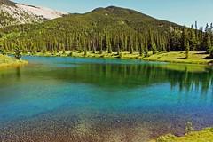 Banff National Park (ASHLEE M PHOTOGRAPHY) Tags: lake canada mountains beautiful landscape calm alberta banffnationalpark turquoisewater calmwaters