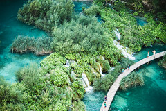 Croazia (Daniele Pezzoni Photography) Tags: park panorama parco lake verde green nature water landscape lago waterfall natura national croazia plitvice cascate nazionale vegetazione naturale riserva incontaminato riserve