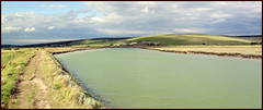 River Cuckmere & South Downs nr. Seaford. (chas96) Tags: seaford canong10