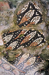 Mosaic Fragment From Inside The Bell Tower [Porec - 19 August 2013] (Doc. Ing.) Tags: archaeology mosaic croatia unesco hr byzantine worldheritage porec istria parenzo 2013 istarska euphrasianbasilica