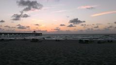 sky beach sunrise seaside day florida cloudy... (Photo: Daniel Piraino on Flickr)