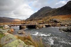 Bridge to Tryfan (brackenb) Tags: bridge water wales stream snowdonia tryfan northwales cwmidwal explored