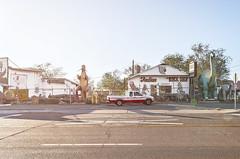 Monsters, Truck. (Spencer Wilton) Tags: arizona usa southwest truck dinosaurs geodes torism roadtrip2013