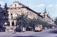 Once upon a time - Hungary - Szombathely / Steinamanger (railasia) Tags: architecture hungary sixties szombathely metergauge lostsystem