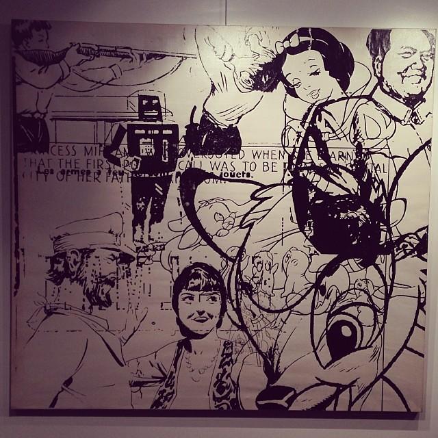 """Mao Mix"" Jorge Cabieses • ""Bestiario"" #muestra colectiva #arteenlima #arte #artinlima #art #artistaperuano #artist #artista #peruvianartist"