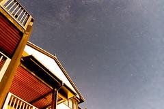 Astro Photography @ the Beach (myfrozenlife) Tags: uk greatbritain trip travel sea vacation england sky holiday beach night canon unitedkingdom astro devon astrophotography 7d nightsky bigbury bigburyonsea