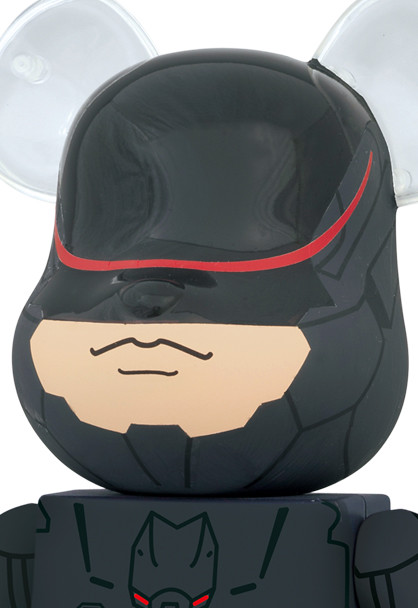 BE@RBRICK 2014 機器戰警 RoboCop 3.0 100% & 400%
