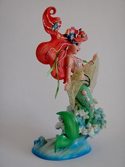 Ariel Couture de Force Figurine by Enesco - First Look - Full Left Front View (drj1828) Tags: ariel us mermaid figurine purchase disneystore firstlook thelittlemermaid 8inch enesco 2013 couturedeforce