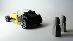 Lotus Seven (hajdekr) Tags: car toy lego lotus small super seven vehicle caterham